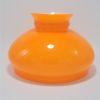 globe opaline orange rechange remplacement restauration lustre suspension vintage