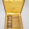anciennes petites cuilleres en metal argente