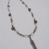 collier fantaisie pendendif plume