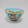 coupelle bol ceramique Mortier de Cerdazur monaco decor poissons