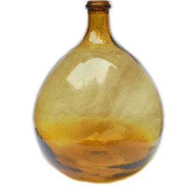 dame jeanne bonbonne verre ambre jaune 10 litres