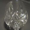 5 verres a pied en cristal