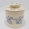 ancien beurrier a eau en ceramique