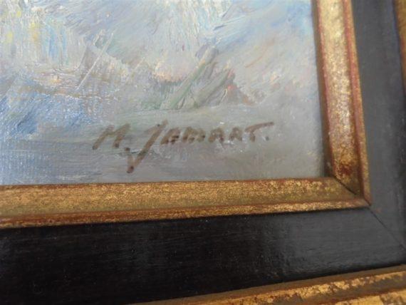 tableaux huile sur toile signees clamart paysages 4 saisons