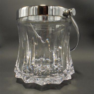seau a glace glacons en cristal