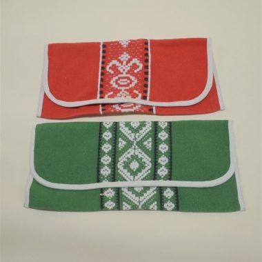 anciens range serviettes en tissu pochettes