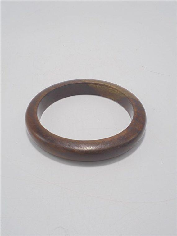 bracelet vintage en bois